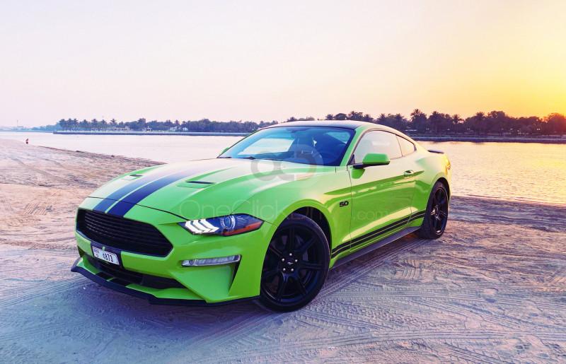 Rent Ford Mustang V8 GT in Dubai - Sports Car Car Rental