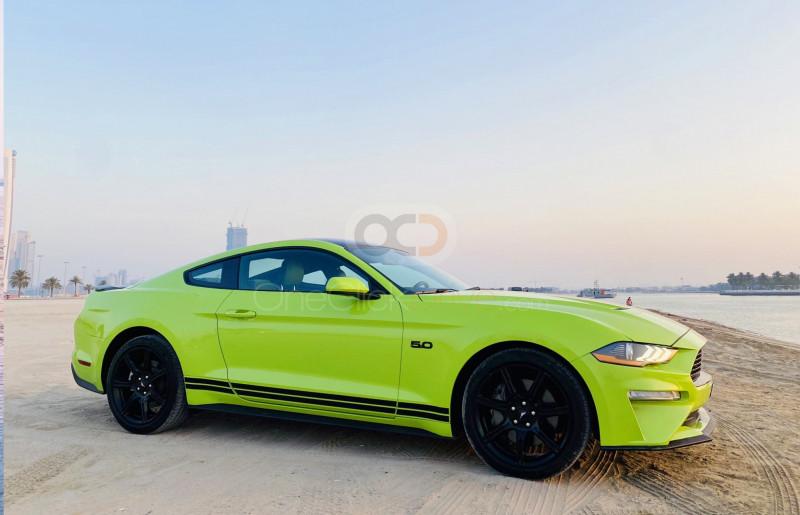 Rent 2020 Ford Mustang V8 GT in Dubai UAE