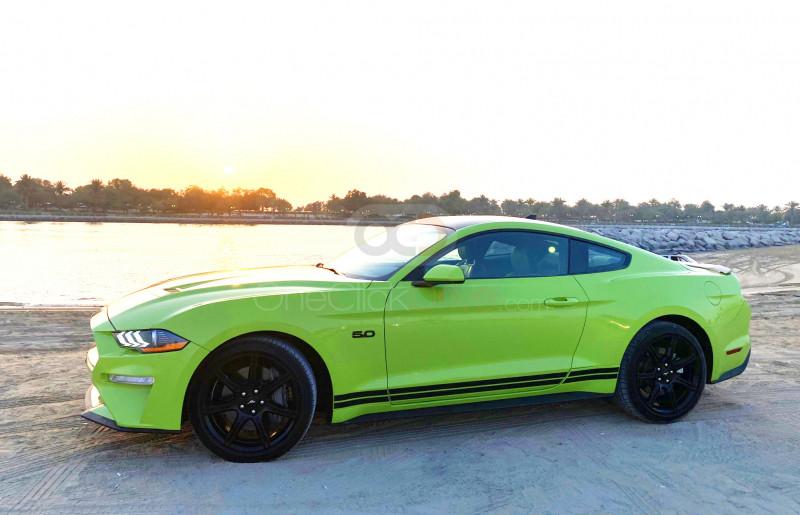Hire Ford Mustang V8 GT - Sports Car Dubai