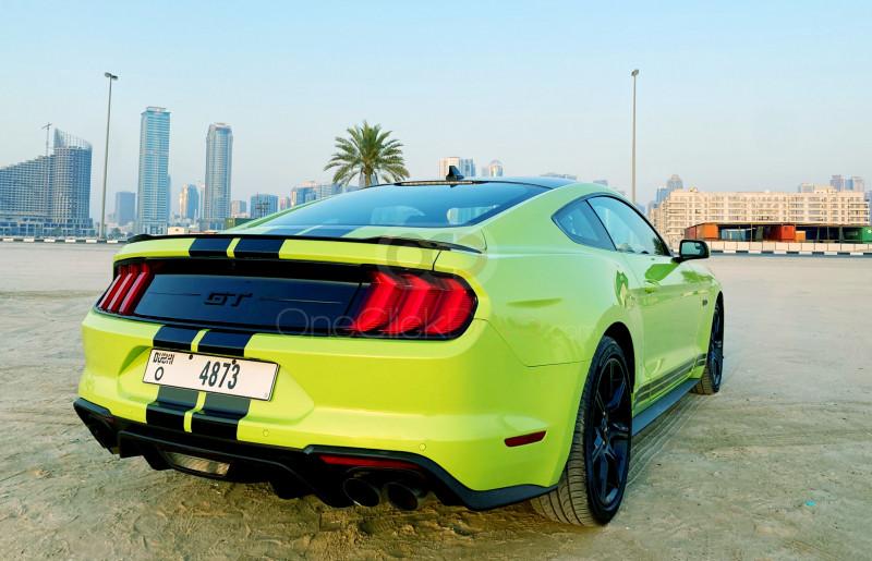 Ford Mustang V8 GT 2020 Rental - Dubai