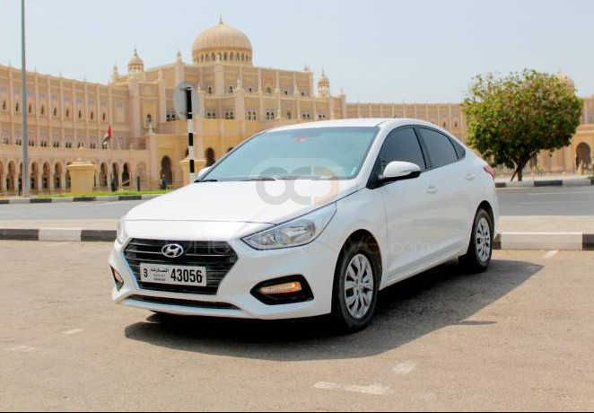 Rent Hyundai Accent in Sharjah - Sedan Car Rental