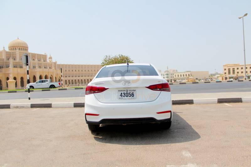 Rent 2019 Hyundai Accent in Sharjah UAE
