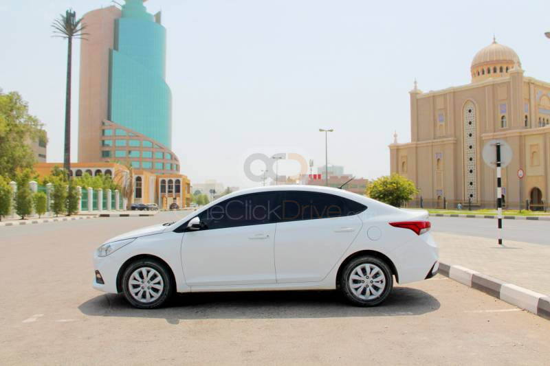 Hire Hyundai Accent - Sedan Dubai