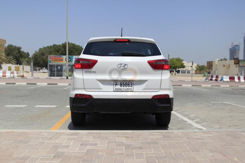 Book Hyundai Creta 2018 in Dubai