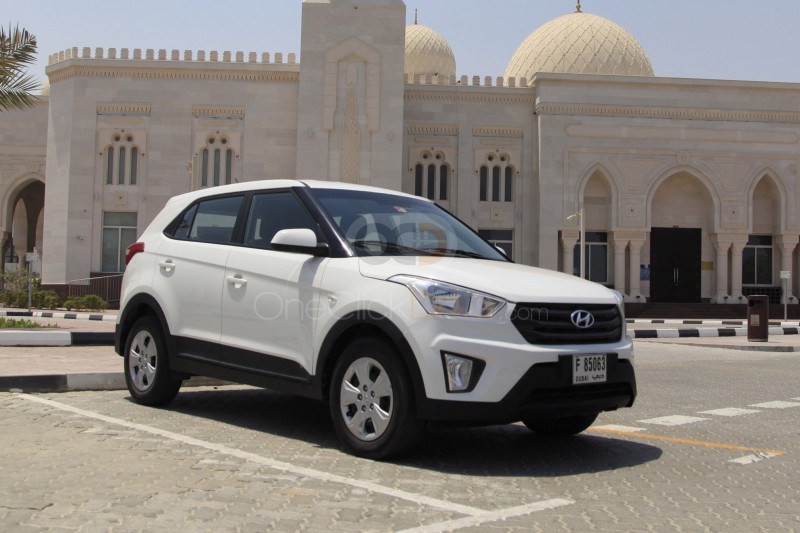 Rent Hyundai Creta in Dubai - SUV Car Rental