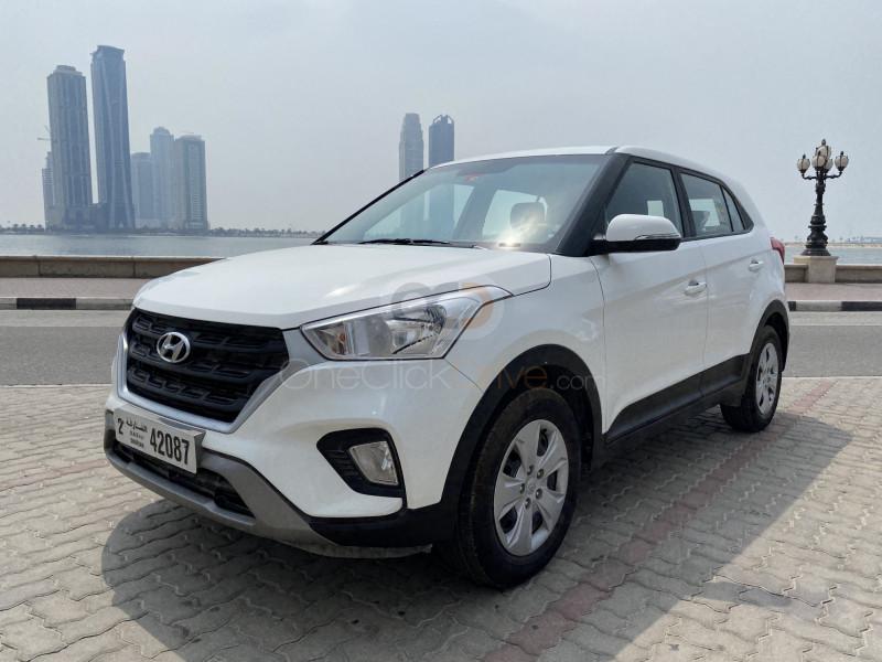 Rent Hyundai Creta in Sharjah - Crossover Car Rental