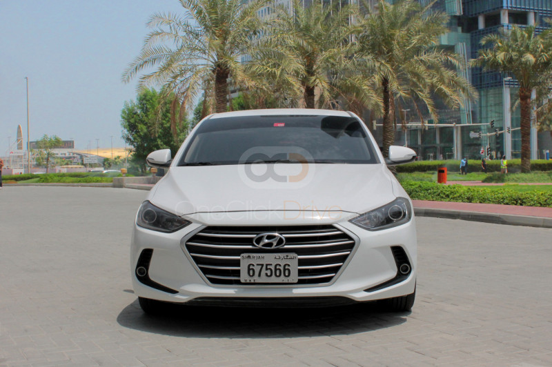 Book Hyundai Elantra 2018 in Sharjah