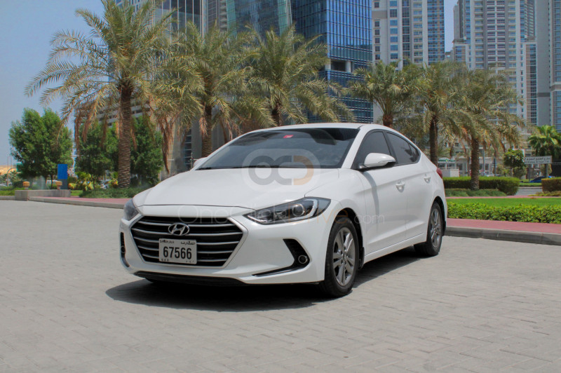 Rent Hyundai Elantra in Sharjah - Sedan Car Rental
