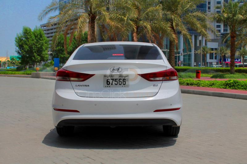 Hyundai Elantra 2018 Rental - Ajman