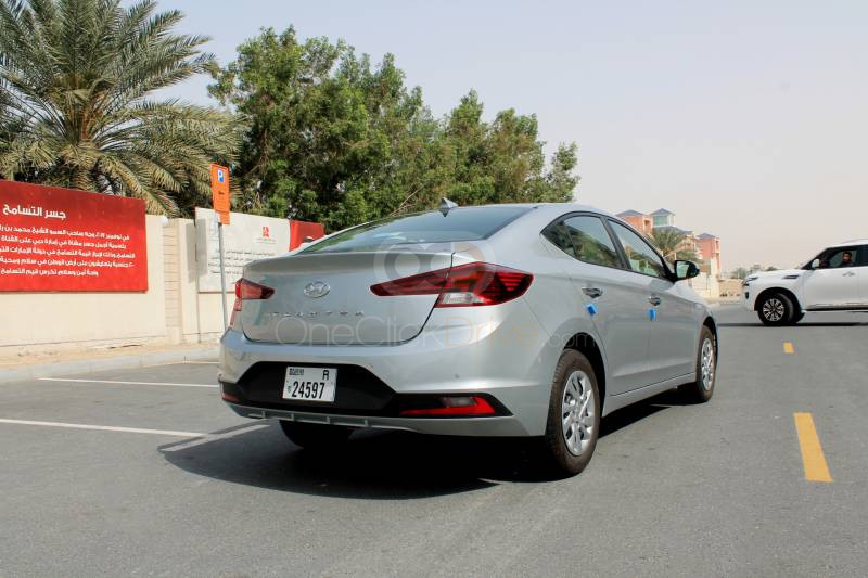 Rent 2020 Hyundai Elantra in Dubai UAE