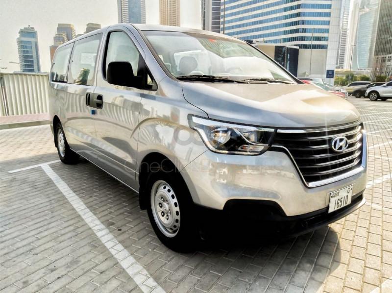 Rent Hyundai H1 in Dubai - Van Car Rental