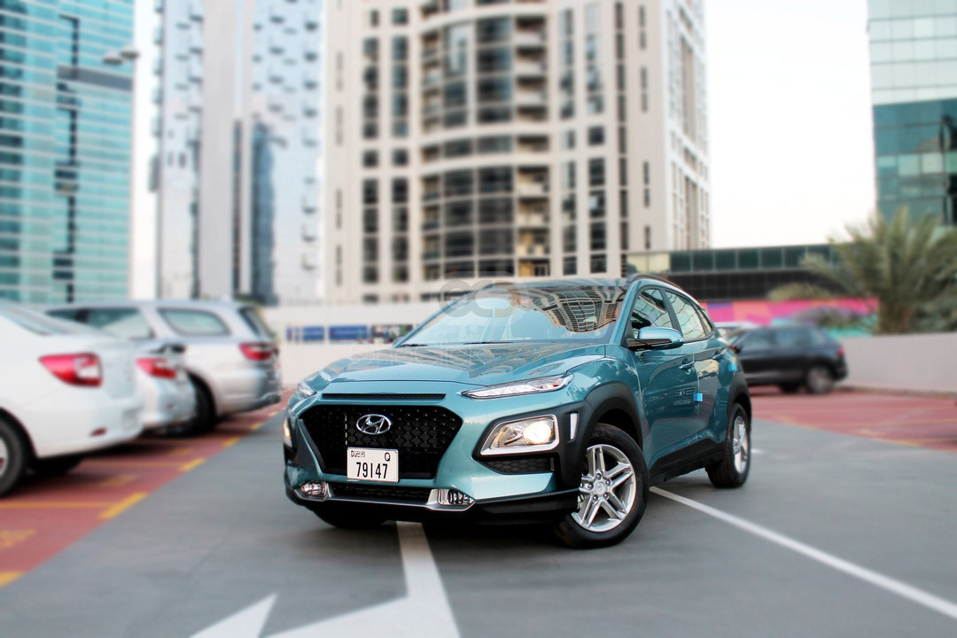 Rent Hyundai Kona in Dubai - Crossover Car Rental