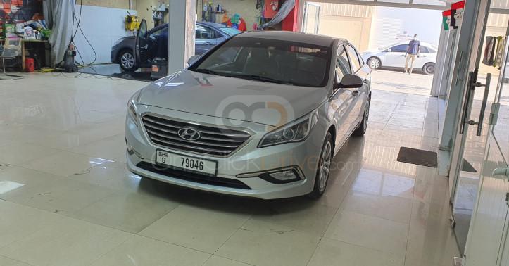 Rent 2017 Hyundai Sonata in Dubai UAE