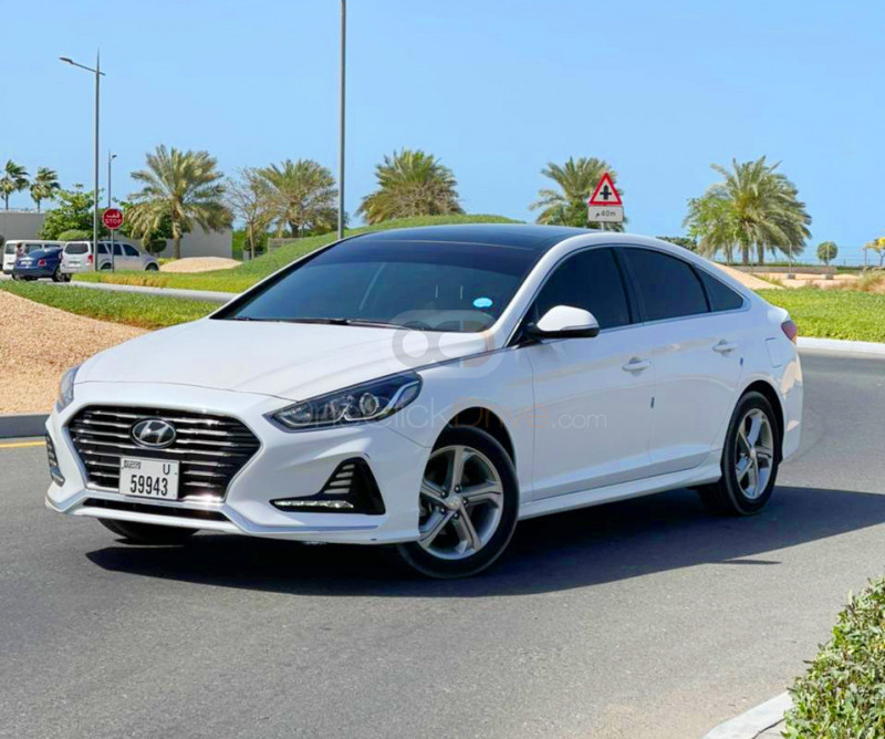 Rent Hyundai Sonata in Dubai - Sedan Car Rental