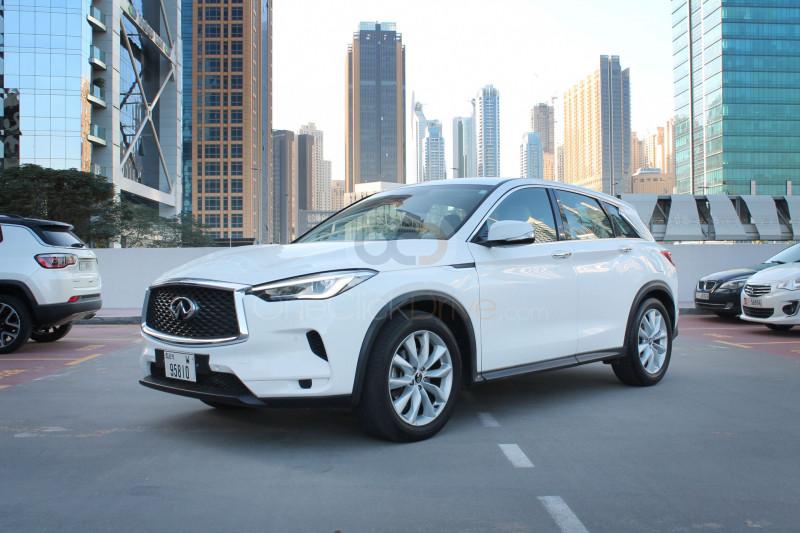 Rent Infiniti QX50 in Dubai - SUV Car Rental