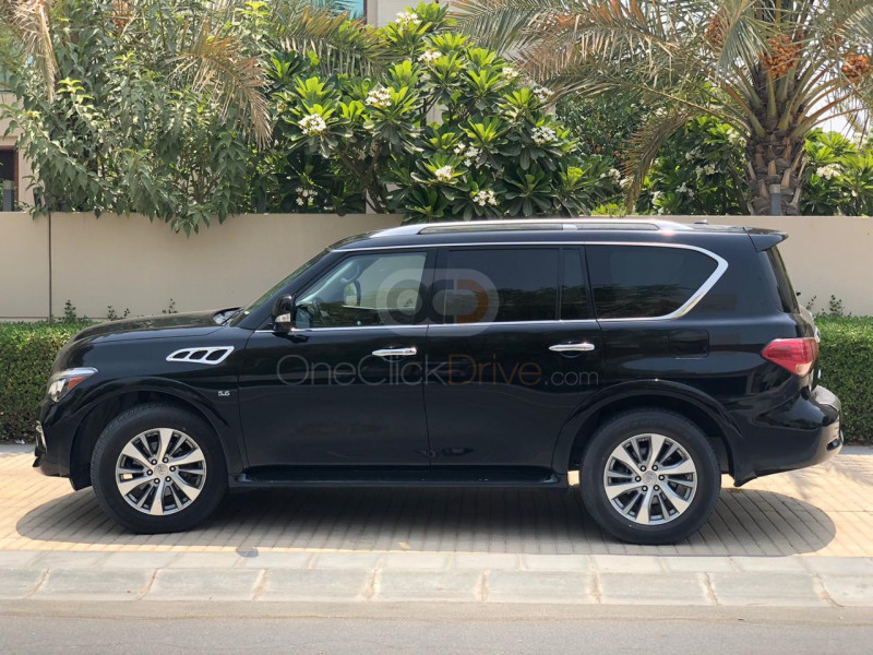 Rent 2017 Infiniti QX80 in Dubai UAE