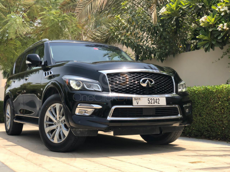 Rent Infiniti QX80 in Dubai - SUV Car Rental