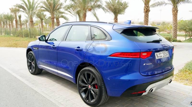 Book Jaguar F Pace First Edition 2018 in Dubai