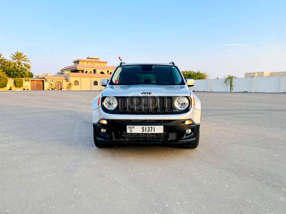 Rent Jeep Renegade in Dubai - SUV Car Rental