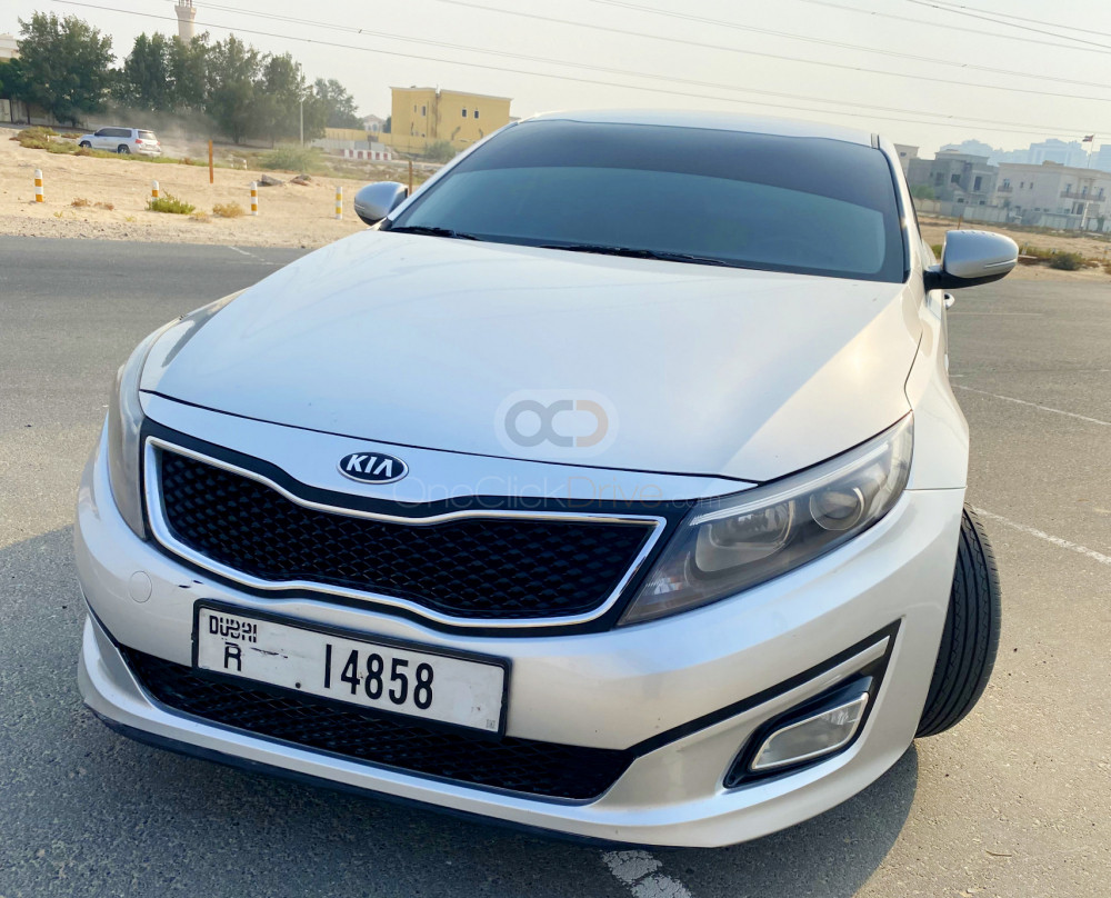Rent Kia Optima in Dubai - Sedan Car Rental