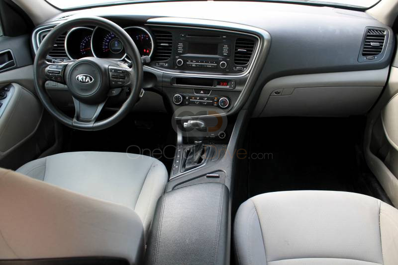 Book Kia Optima 2016 in Dubai