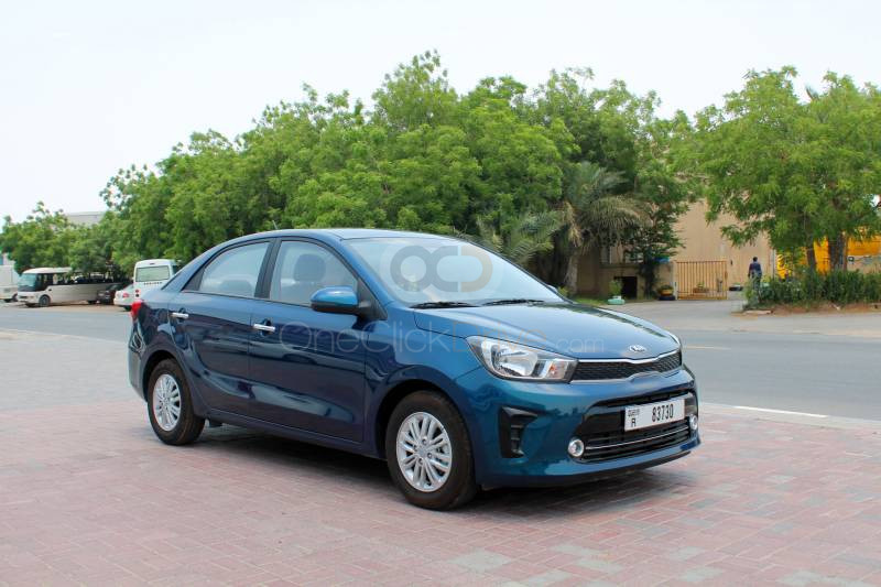 Rent Kia Pegas in Dubai - Sedan Car Rental