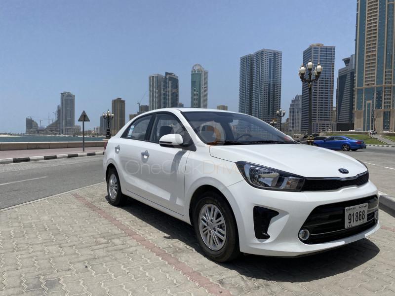 Rent Kia Pegas in Sharjah - Sedan Car Rental
