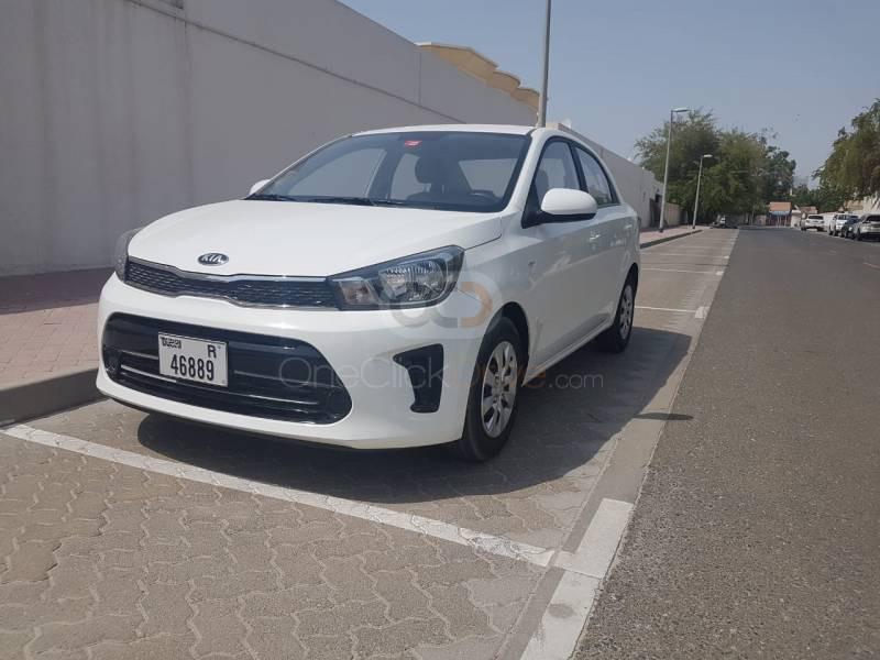 Rent Kia Pegas 2020 Car In Dubai Monthly Basis In