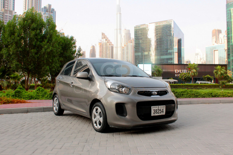 Rent Kia Picanto in Sharjah - Compact Car Rental