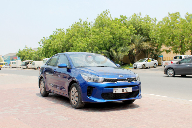 Rent Kia Rio in Dubai - Compact Car Rental