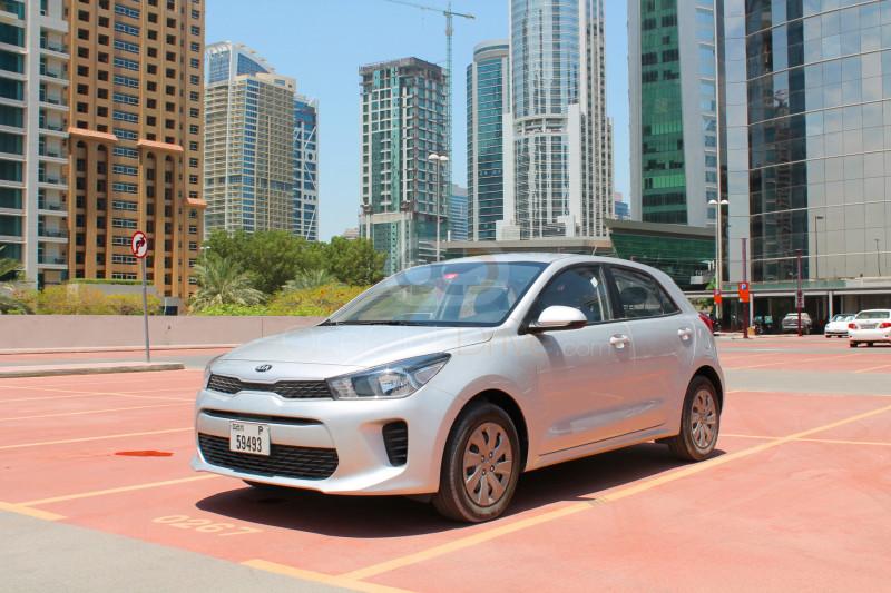 Rent Kia Rio Hatchback in Dubai - Compact Car Rental