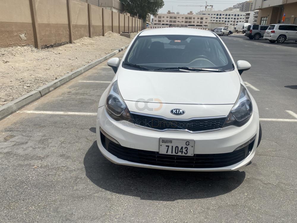 Rent Kia Rio Sedan in Dubai - Sedan Car Rental
