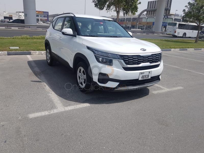 Rent Kia Seltos 2020 Car In Dubai Monthly Basis In