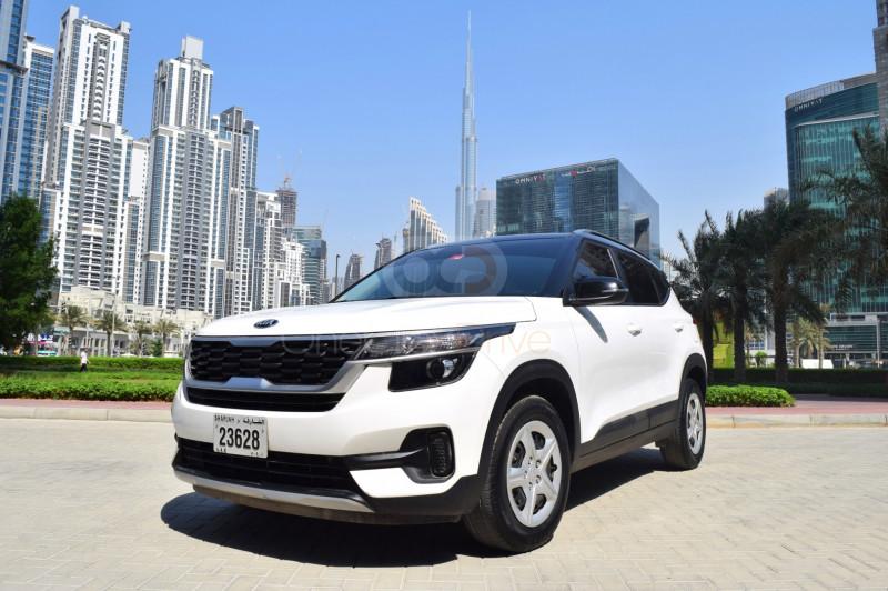Rent Kia Seltos in Ajman - Crossover Car Rental