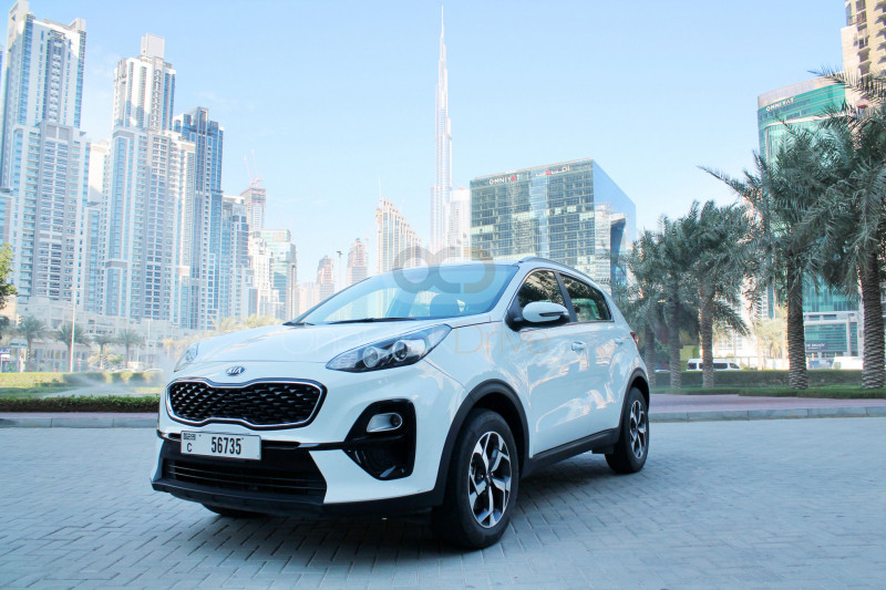 Rent Kia Sportage in Dubai - Crossover Car Rental