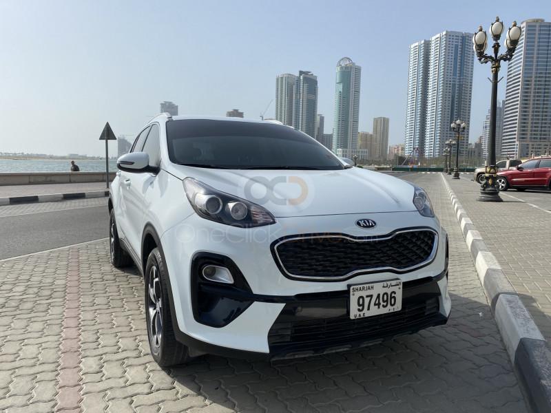 Rent Kia Sportage in Sharjah - Crossover Car Rental