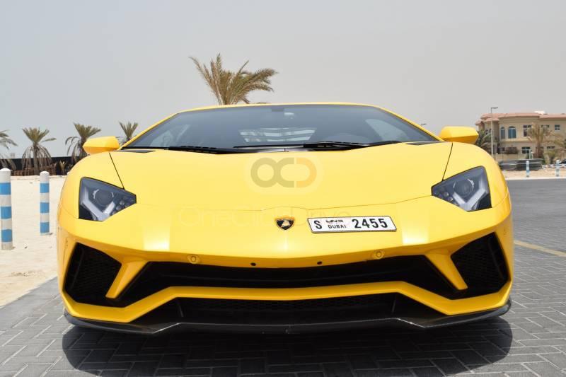 Hire Lamborghini Aventador S Coupe LP740 - Sports Car Sharjah