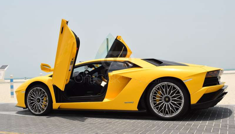 Lamborghini Aventador S Coupe LP740 2017 Rental - Dubai