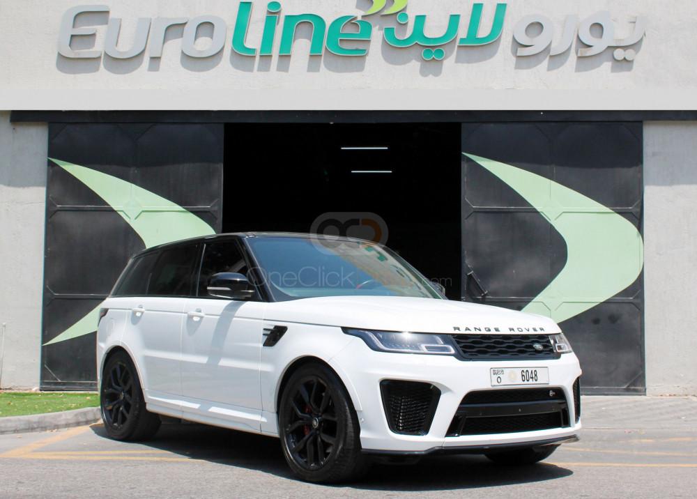 Rent Land Rover Range Rover Sport SVR in Ajman - SUV Car Rental