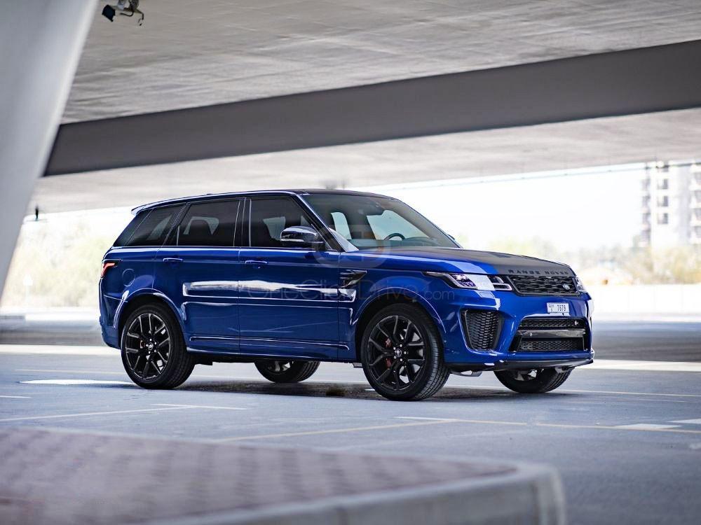 Rent Land Rover Range Rover Sport SVR in Dubai - SUV Car Rental