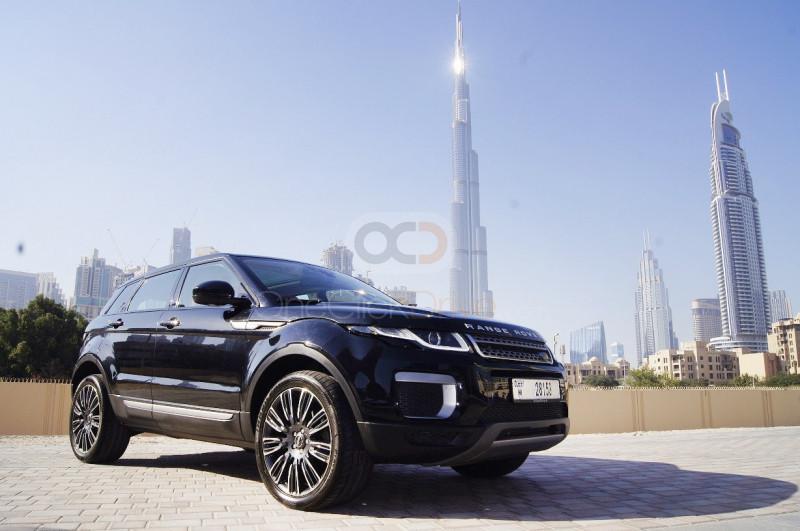 Rent Land Rover Range Rover Evoque in Dubai - Crossover Car Rental