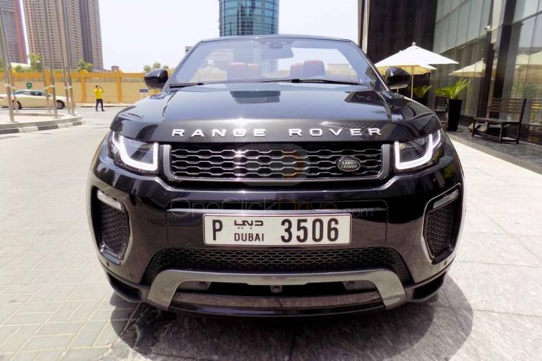 Hire Land Rover Range Rover Evoque Convertible - Crossover Dubai