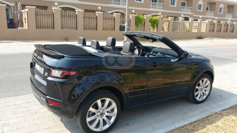 Book Land Rover Range Rover Evoque Convertible 2017 in Dubai