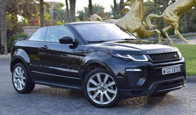 Land Rover Range Rover Evoque Convertible 2017 Rental - Dubai