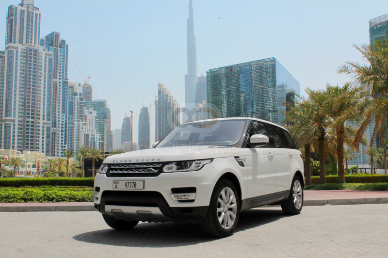 Rent Land Rover Range Rover Sport in Dubai - SUV Car Rental