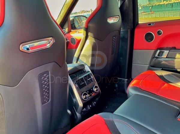 Land Rover Range Rover Sport SVR 2020 Rental - Dubai
