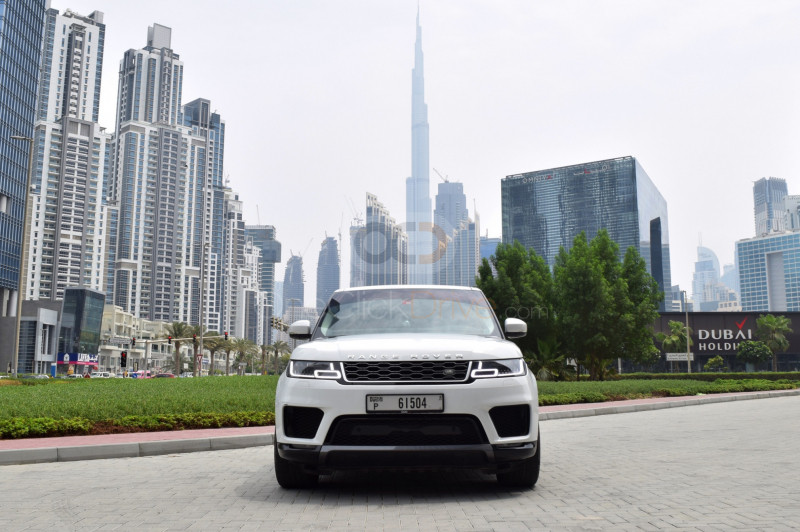 Land Rover Range Rover Sport Supercharged 2019 Rental - Dubai