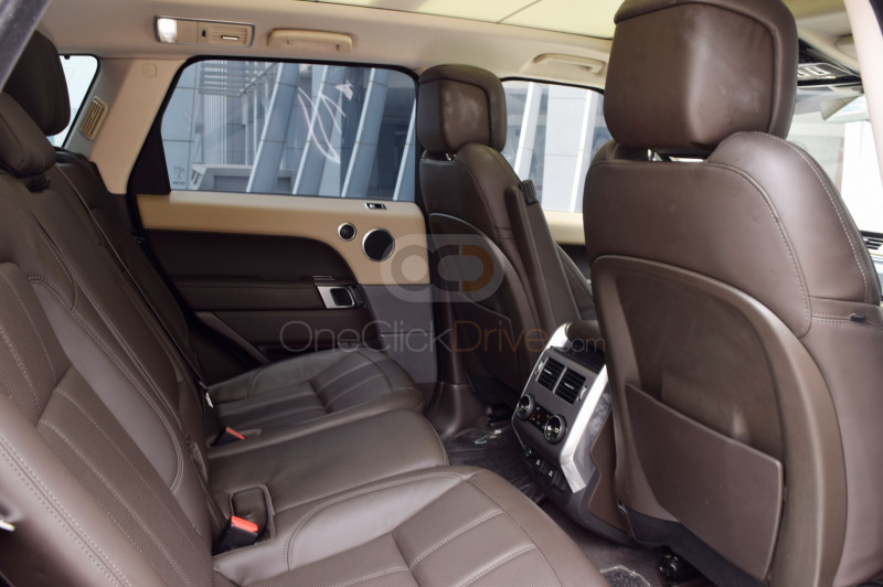 Rent 2019 Land Rover Range Rover Sport Supercharged in Dubai UAE