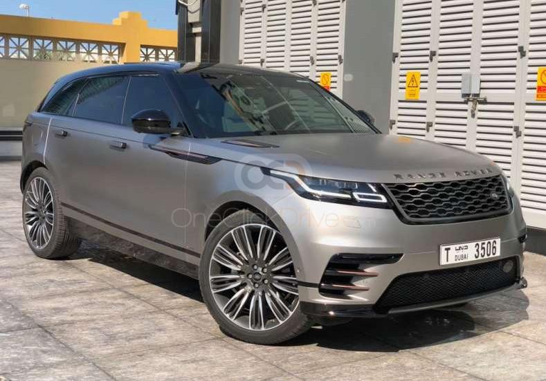 Rent Land Rover Range Rover Velar in Abu Dhabi - SUV Car Rental