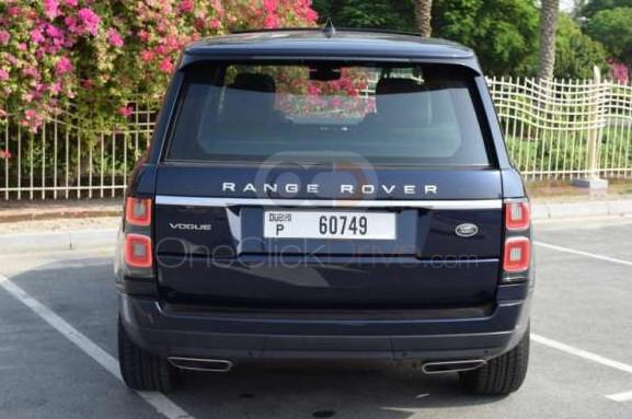 Rent 2019 Land Rover Range Rover Vogue in Dubai UAE